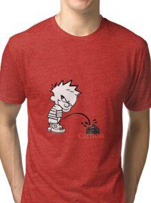 Canon Pee Tri-blend T-Shirt