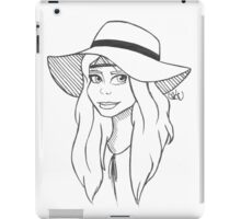Floppy Hat iPad Case/Skin
