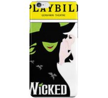Wicked Playbill iPhone Case/Skin