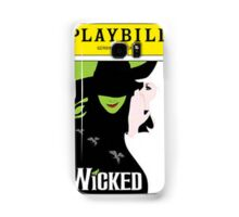 Wicked Playbill Samsung Galaxy Case/Skin