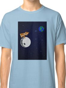 The Moon is with Stupid  Classic T-Shirt