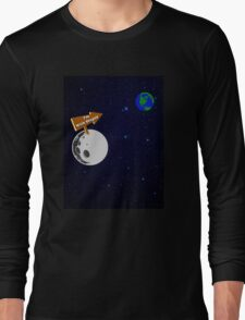 The Moon is with Stupid  Long Sleeve T-Shirt
