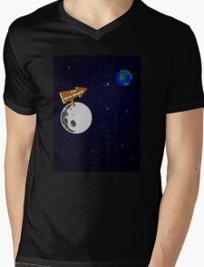 The Moon is with Stupid  Mens V-Neck T-Shirt