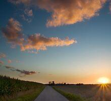 sunset by Christophe de Wit