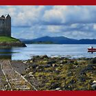 Castle Stalker, Beautiful Scotland. by John Walsh, IRELAND
