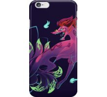 Lotus Mystery Kitsune iPhone Case/Skin