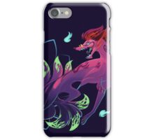 Lotus Mystery Kitsune iPhone Case/Skin