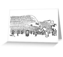 Line drawings Greeting Card