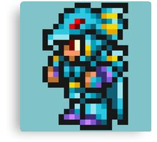 Kain Highwind Sprite - FFRK - Final Fantasy IV (FF4) Canvas Print