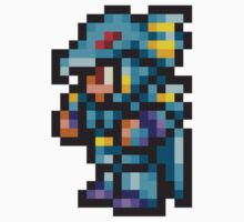Kain Highwind Sprite - FFRK - Final Fantasy IV (FF4) One Piece - Short Sleeve