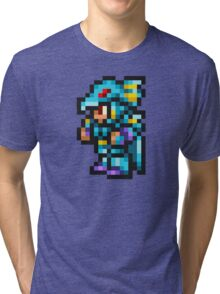 Kain Highwind Sprite - FFRK - Final Fantasy IV (FF4) Tri-blend T-Shirt