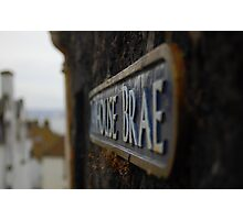 House Brae Photographic Print