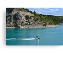 Water skiing Canvas Print