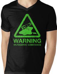 The Danger of the Ooze Mens V-Neck T-Shirt