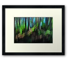 Forest Abstraction Framed Print