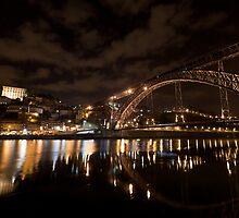 D. Luis Bridge, Oporto, Portugal by Helder Ferreira