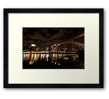 D. Luis Bridge, Oporto, Portugal Framed Print