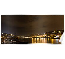 Oporto and Gaia, 2 cities divided by a river Poster