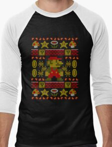 Super Ugly Sweater Men's Baseball ¾ T-Shirt