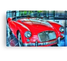 Famous Red Canvas Print