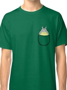 Pocket totoro. Anime Classic T-Shirt