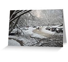 Snowstorm - Burke, Virginia Greeting Card