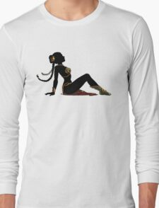 Slave Girl Mudflap Long Sleeve T-Shirt