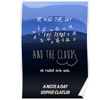 The Sky, the Stars, and the Clouds Poster
