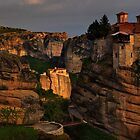 Monasteries of Meteora #2 by Peter Hammer