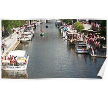Rideau Canal - Ottawa, Ontario Poster