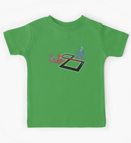 Tron Slot Light Cycles Kids Tee