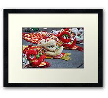 Enter the Dragons! Chinese New Year Framed Print