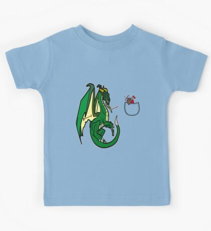 Dragons and Knights Kids Tee