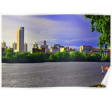 Skyline of Albany, New York Poster