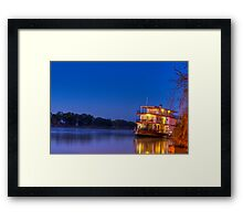 Ps Marion on night fall Framed Print