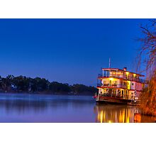Ps Marion on night fall Photographic Print