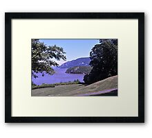 Hudson view from West Point Framed Print
