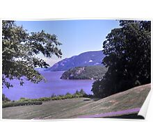 Hudson view from West Point Poster