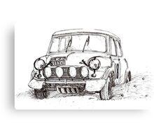 1967 Mini Cooper - Tulip Rally Canvas Print