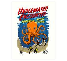 Mutant Octopus Art Print