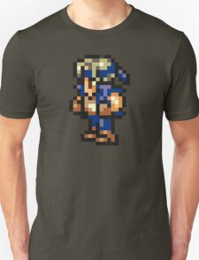 Locke Cole Sprite - FFRK - Final Fantasy VI (FF6) Unisex T-Shirt