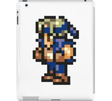Locke Cole Sprite - FFRK - Final Fantasy VI (FF6) iPad Case/Skin