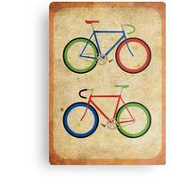 RBG Bikes ~ Series 2 Metal Print