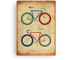 RBG Bikes ~ Series 2 Canvas Print