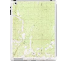 USGS Topo Map Oregon Parker Mtn 281043 1988 24000 iPad Case/Skin