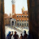 Admiring Siena (Italy) by Ivana Pinaffo