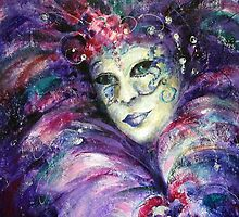Happy mask by Ivana Pinaffo