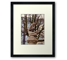 Where are the leaves - I'm cold Framed Print