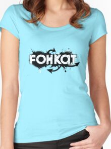 Fohkat Industries Women's Fitted Scoop T-Shirt
