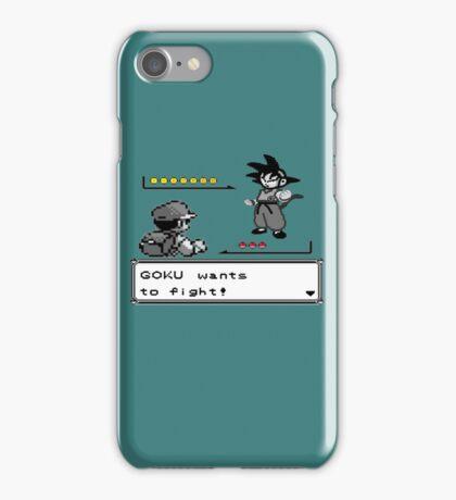 Crossover Pokemon - Dragonball Coloured balls iPhone Case/Skin